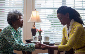 Karen Abercrombie and Priscilla C. Shirer in War Room