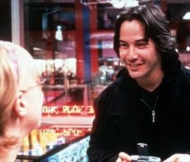 Keanu Reeves in The Watcher