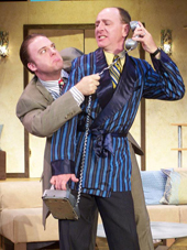 Adam Michael Lewis and Tom Walljasper in Don't Dress for Dinner