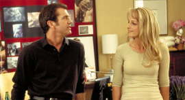 Mel Gibson and Helen Hunt in What Women Want