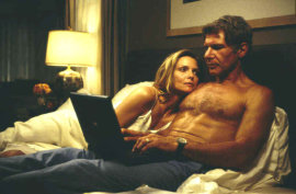 Michelle Pfeiffer and Harrison Ford in What Lies Beneath