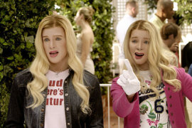 Shawn and Marlon Wayans in White Chicks
