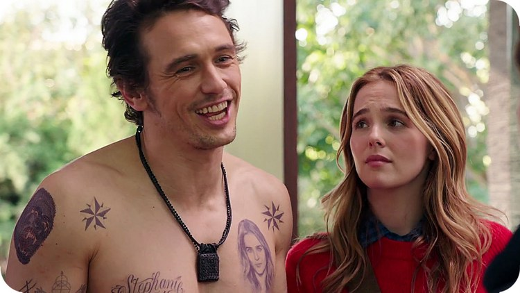 James Franco and Zoey Deutch in Why Him?