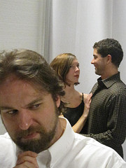 Adam Lewis, Beth Woolley, and David Furness in The Winter's Tale
