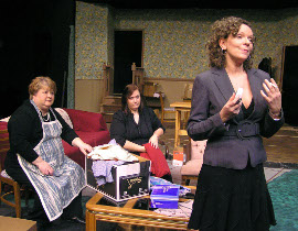 Jan Golz, Lisa Kahn, and Pamela Crouch in The O'Conner Girls