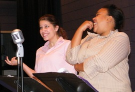Analisa Percuoco and Sonya Womack in The War of the Worlds