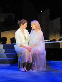 Jenna Haimes and Carly Ann Berg in Wonderful Town