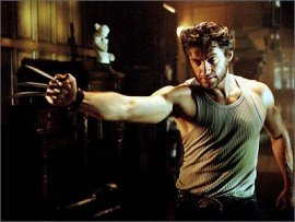Hugh Jackman in X2: X-Men United