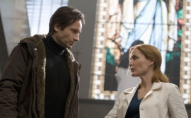 David Duchovny and Gillian Anderson in The X-Files: I Want to Believe