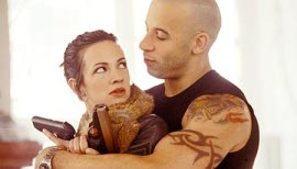 Asia Argento and Vin Diesel in XXX