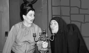 Nancy Teerlinck and Nate Karstens in Young Frankenstein