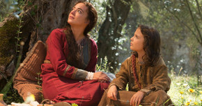 Sara Lazzaro and Adam Greaves-Neal in The Young Messiah