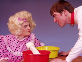 Jenny Winn and Nathan Bates in You're a Good Man, Charlie Brown