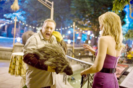 Kevin James and Leslie Bibb in Zookeeper